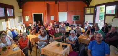Brennnesseln Lesung Ludwig Fischer 3. August 2019 | Fotografien Heinz-Peter Bolle-Bovier
